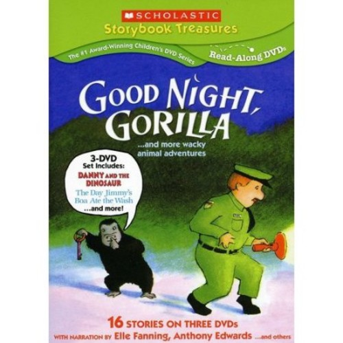 Good Night, Gorilla... and More Wacky Animal Adventures [3 Discs] [DVD]