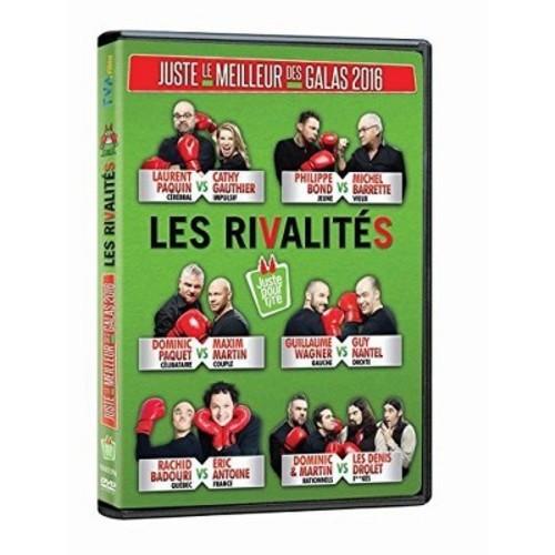 Juste Le Meilleur Des Galas 2016: Les Rivalites (DVD)