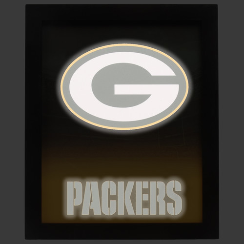 NFL Glow Wall Sign - Green Bay Packers