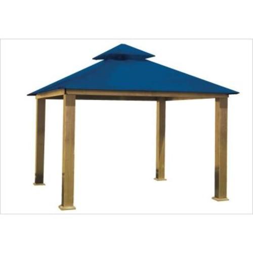 14 ft. x 14 ft. ACACIA Cobalt Blue Gazebo Replacement Canopy