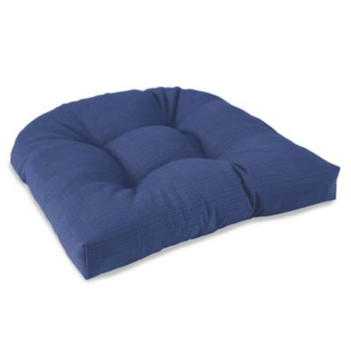 Outdoor Tufted Cushion in Pool
