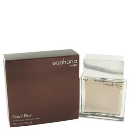 Calvin Klein Eau De Toilette Spray 3.4 Oz Euphoria Cologne By Calvin Klein For Men