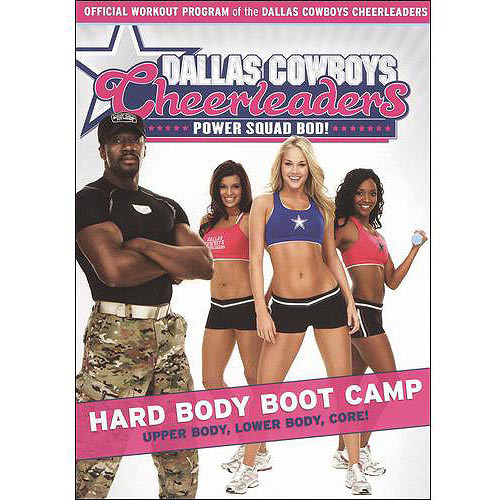 Dallas Cowboys Cheerleaders: Power Squad Bod! - Hard Body Boot Camp [DVD] [2009]