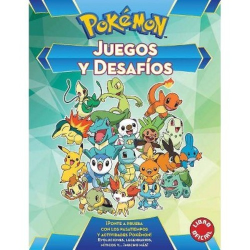 Pokmon Juegos y desafos / Pokemon Games and Challenges (Original) (Paperback) (Varios