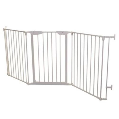 Dreambaby Newport Adapta-Gate in White