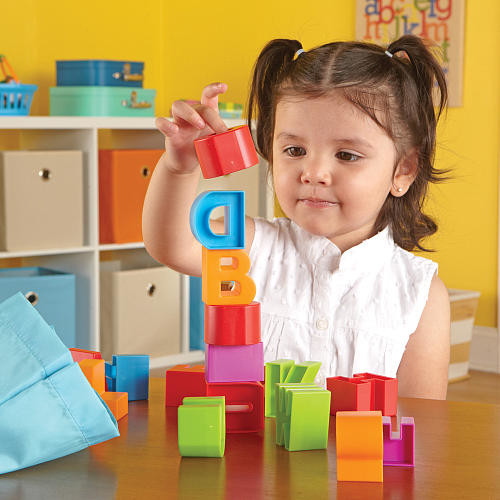 Learning Resources Alphabet Building Blocks 36 Pieces