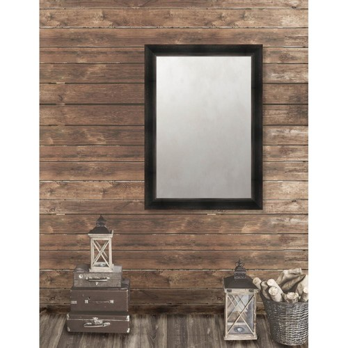 Larson-Juhl Pinnacle 29.625 in. x 41.625 in. French Antique Framed Antique Mirror