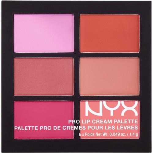 The Pinks Pro Lip Cream Palette