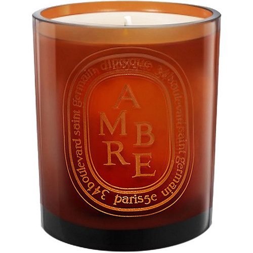 Diptyque Colored Ambre Candle