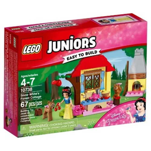 LEGO Juniors Disney Princess Snow White's Forest Cottage 10738