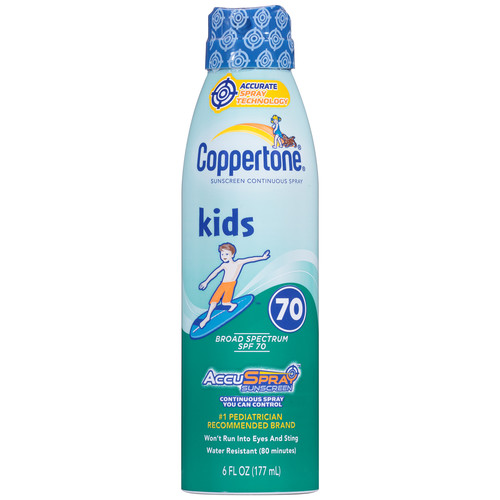 Coppertone Kids Sunscreen, 70+ SPF, 6 fl oz (177 ml)
