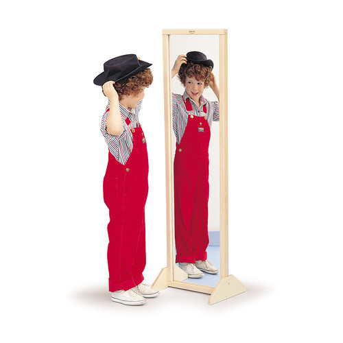 Whitney Brothers Vertical/Horizontal Mirror With Stand