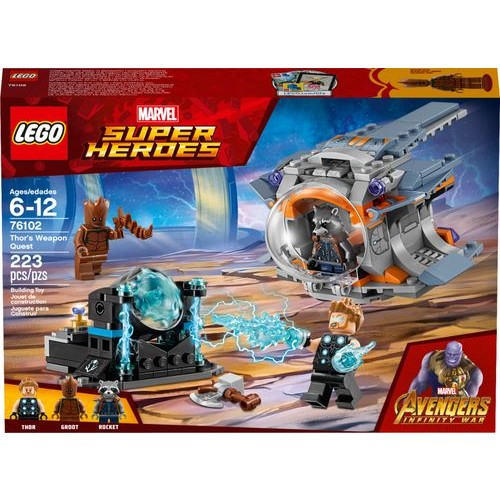 LEGO - Marvel Super Heroes Thor's Weapon Quest