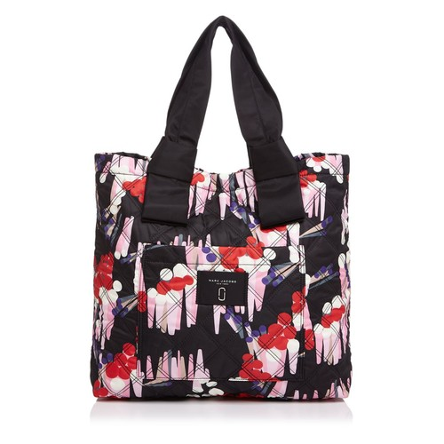 MARC JACOBS Geo Spot Printed Knot Tote