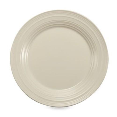 Mikasa Swirl Dinner Plate in White