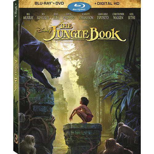 Disney The Jungle Book 2 Disc Blu-Ray Combo Pack (Blu-Ray/DVD/Digital HD)