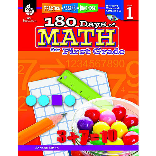 180 Days of Math for First Grade Book