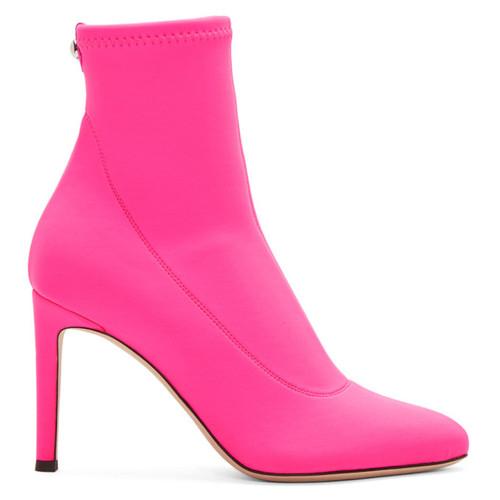 Pink Neon Bimba Boots
