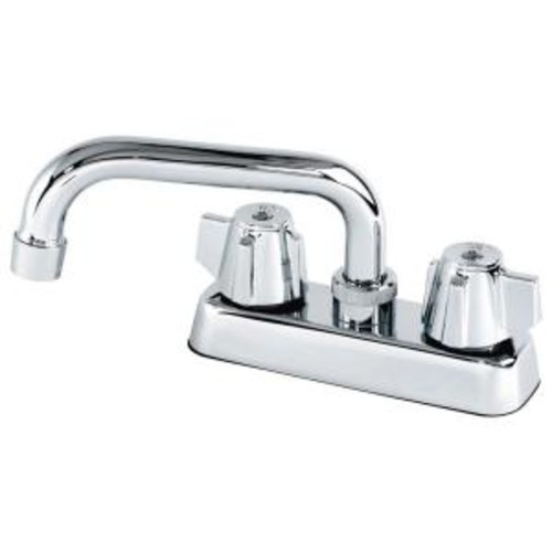 Homewerks Worldwide 2-Handle Laundry Faucet in Chrome