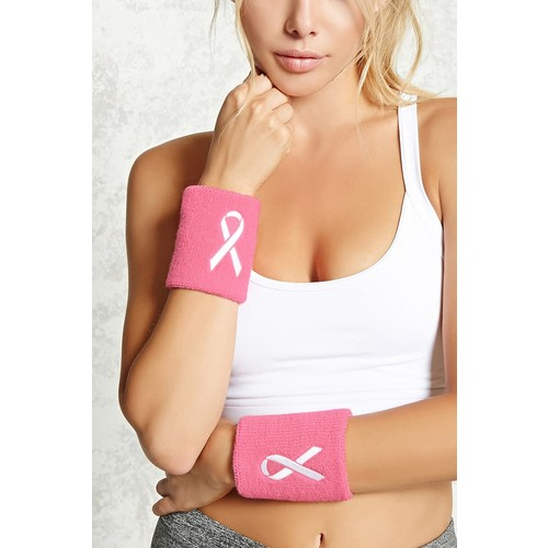 Breast Cancer Awareness Sweatbands