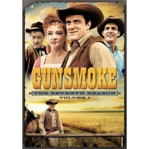 Gunsmoke: The Seventh Season, Vol. 1 [5 Discs]
