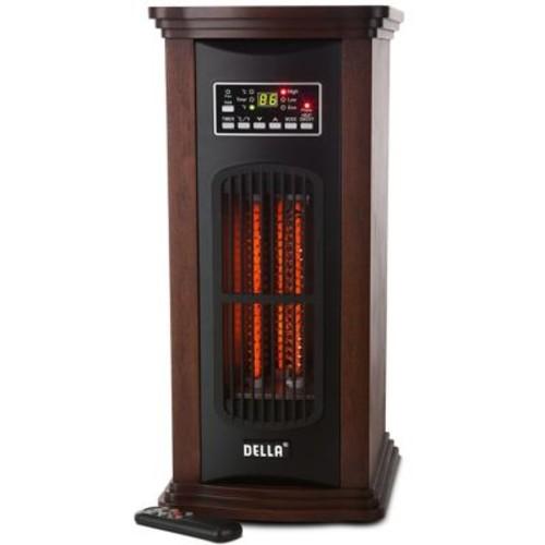 Della 1500 Watt Portable Electric Infrared Tower Space Heater