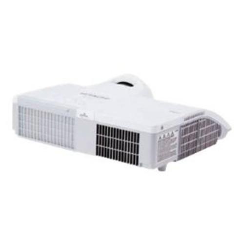 Hitachi CP BW301WN - LCD projector - 3000 ANSI lumens - WXGA (1280 x 800) - 16:10 - HD 720p - LAN (CP-BW301WN)