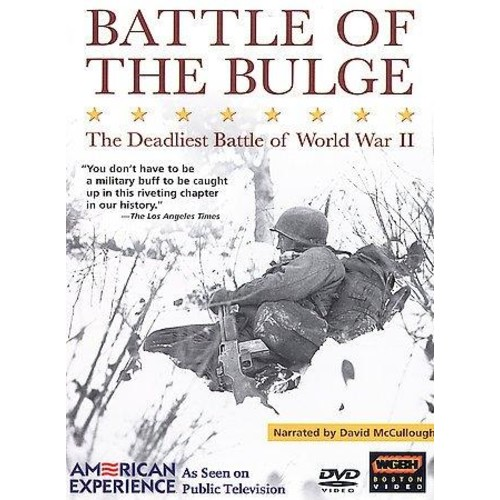 American Experience: Battle of the Bulge (DVD)