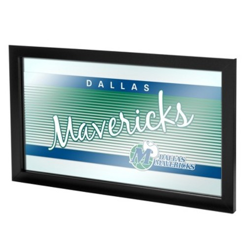 Dallas Mavericks Team Logo Wall Mirror