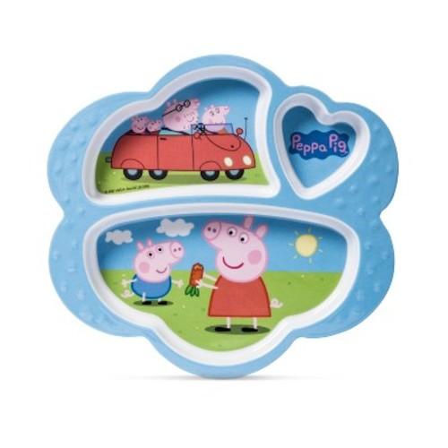 Peppa Pig Entertainment One Melamine Kids Plate 7.5
