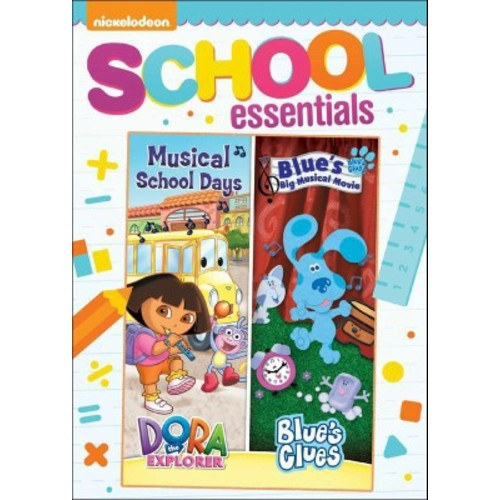 Dora the Explorer: Musical School Days/Blue's Clues: Blue's Big Musical Movie (dvd_video)