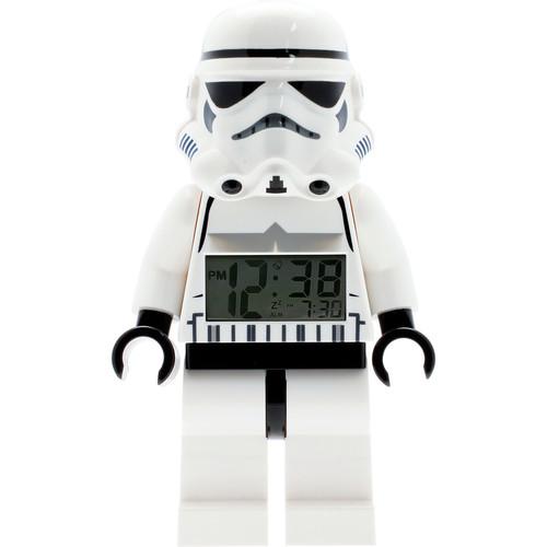LEGO Watches Star Wars Stormtrooper Kids Minifigure Light Up Alarm Clock