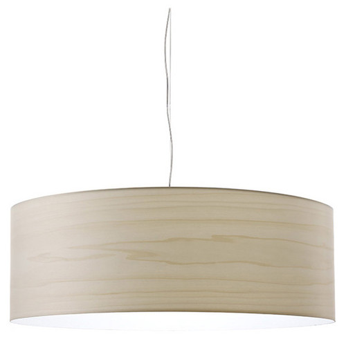 Gea Large Suspension [Lamp Base : Standard Medium Base; Shade color : Ivory White]