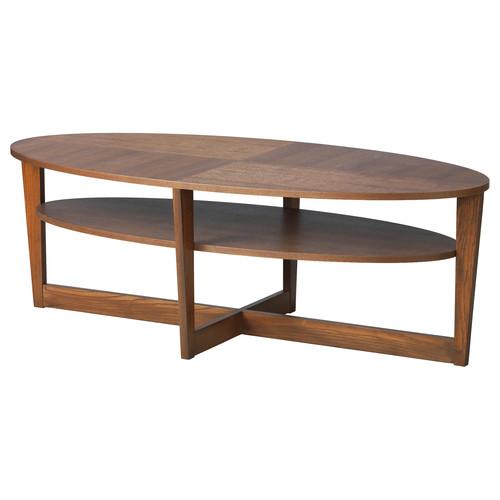 VEJMON Coffee table, black-brown
