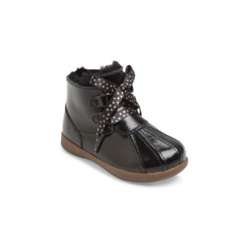 Baby's & Toddler's Comfort Payten Stars Patent Leather Booties