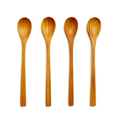 Teak Long Spoon Set
