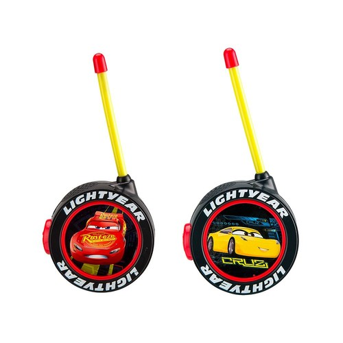 KIDdesigns Disney Cars 3 Walkie Talkies