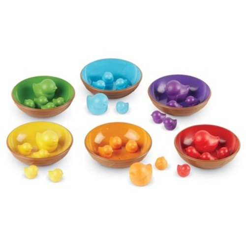 Learning Resources Birds in a Nest Sorting Set - 36 Piece