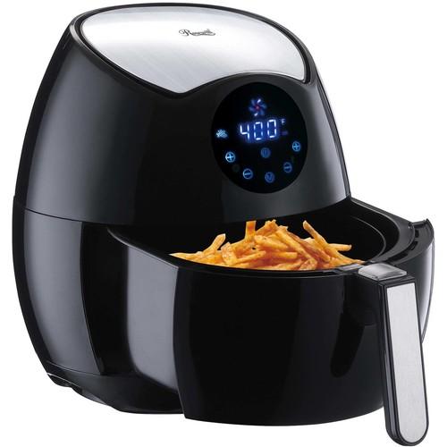 Rosewill 1400-Watt Oil-Less Low Fat Air Fryer in Black