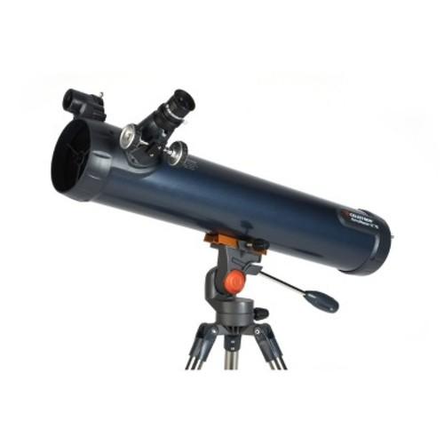 Celestron - AstroMaster LT 76AZ Newtonian Reflector Telescope - Silver