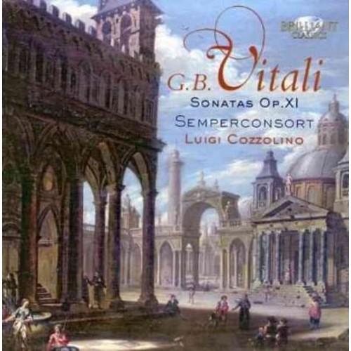 Giovanni Battista Vitali - Vitali: Sonatas Op. 11 for Violin & Basso Coninuo