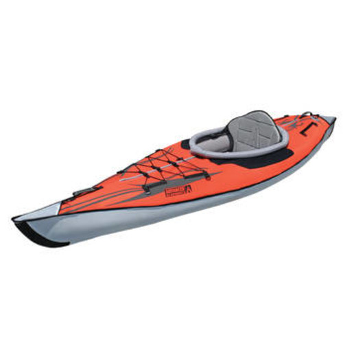 AdvancedFrame Inflatable Kayak (Classic Red)