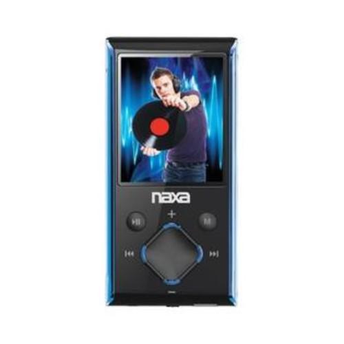 Naxa Nmv173nbl 4Gb 1.8 Lcd Portable Media Player (Blue)