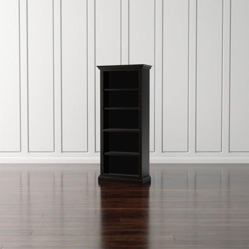 Cameo Bruno Black Open Bookcase