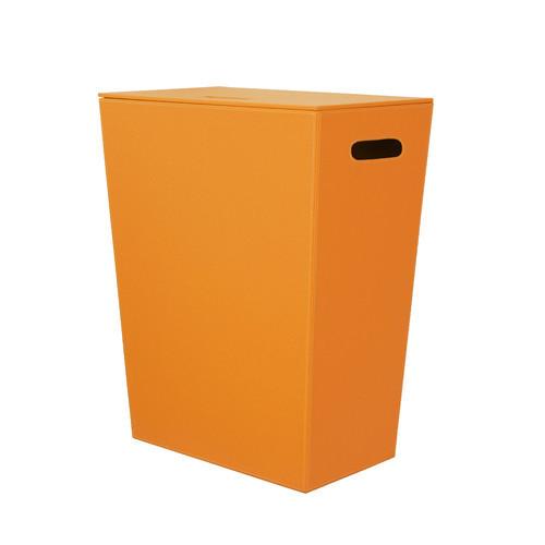 Complements Ecopelle Laundry Hamper [Finish : Orange]
