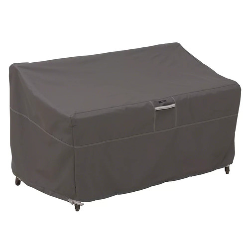 Classic Accessories Ravenna Large Sofa/Loveseat Patio Furniture Storage Cover, Fits up to 88