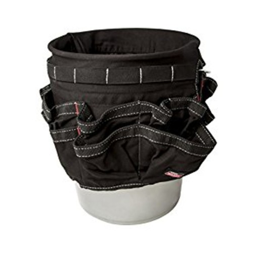 Dickies Work Gear 57062 Black 42-Compartment Bucket Organizer [Black]