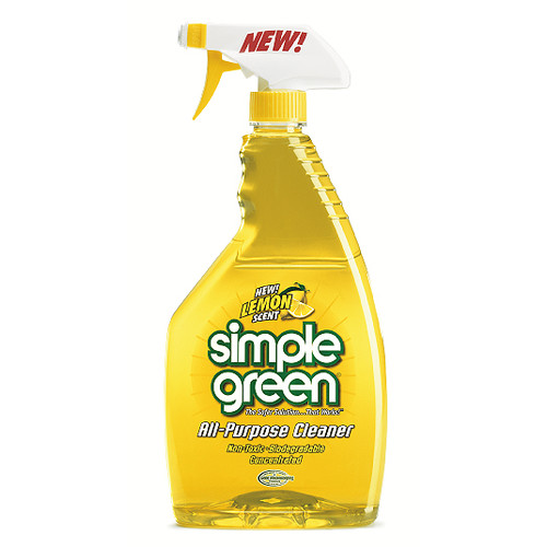 Simple Green 14002 Lemon Scent All-Purpose Cleaner, 24oz Trigger Spray [1, 20 - 30 ounces]