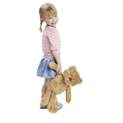 Animal Alley 20-inch Stuffed Tagalong Bear - Light Brown