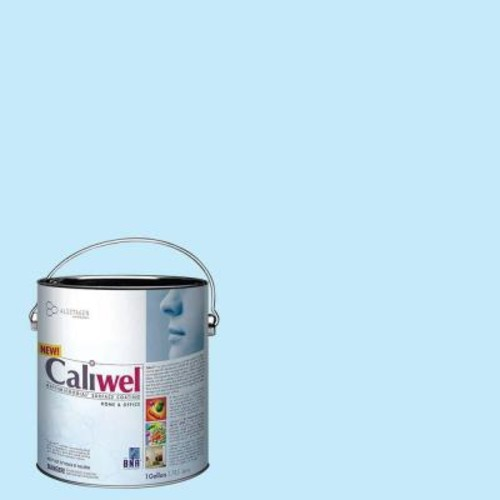 Caliwel Home & Office 1 gal. Comfort Zone Blue Latex Premium Antimicrobial and Anti-Mold Interior Paint